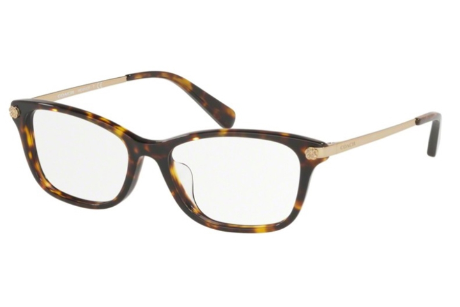 Coach HC6142F Eyeglasses in 5120 Dark Tortoise
