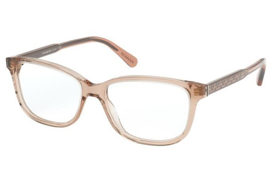 Coach HC6143 Eyeglasses in 5561 Transparent Champagne