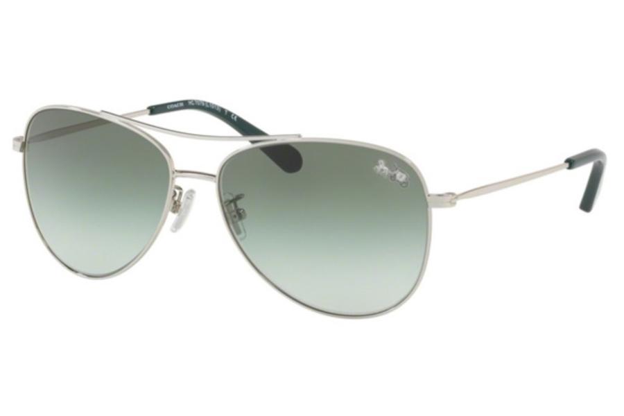 92d5ddb309b22 ... Coach HC7079 Sunglasses in 90018E Silver   Green Gradient  Coach HC7079  Sunglasses in 932213 Light Gold ...