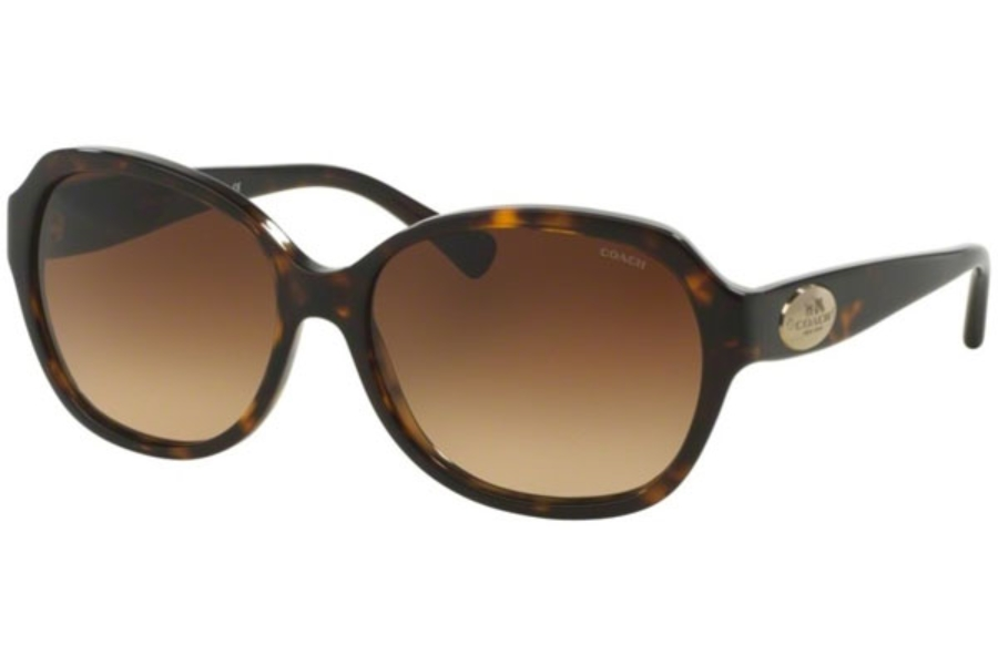 Coach HC8150 Sunglasses in 512013 Dark Tortoise