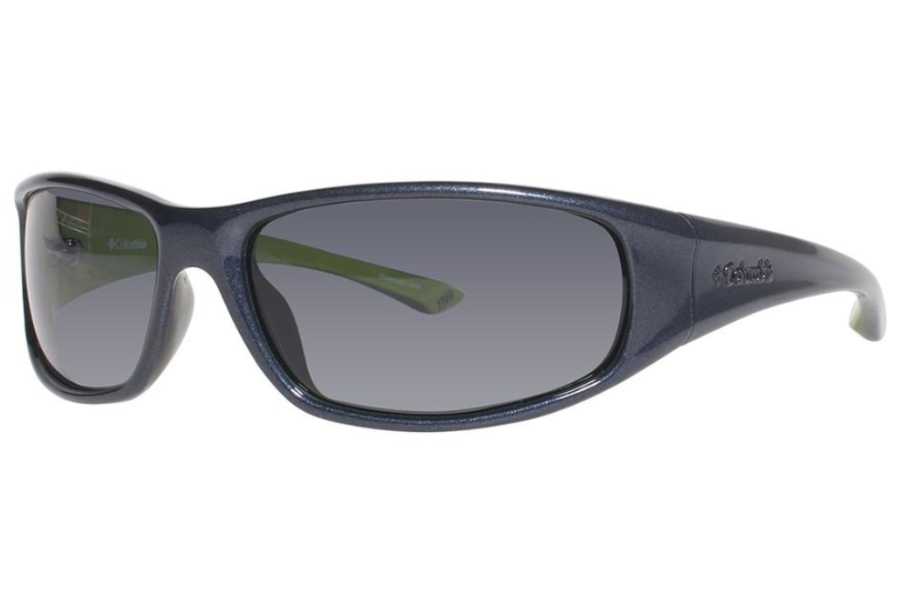 0177f40f7a7a9 Columbia Borrego Sunglasses in C632 Carbon Blue Apple Green ...