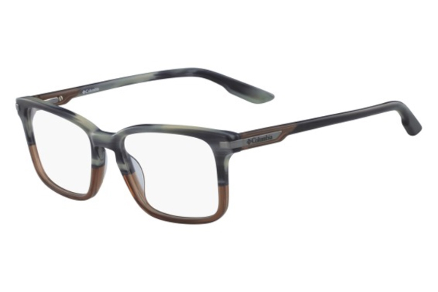 Columbia C8016 Eyeglasses in 430 Blue Horn Dusk