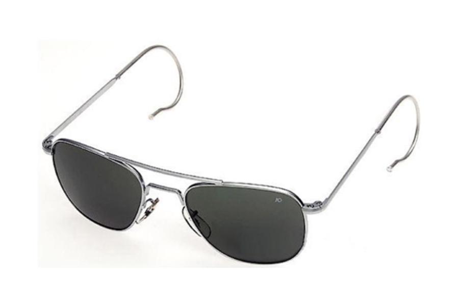 e5f1a04fb7503 ... AO Eyewear Original Pilot Silver (Comfort Cable) Sunglasses in AO  Eyewear Original Pilot Silver ...