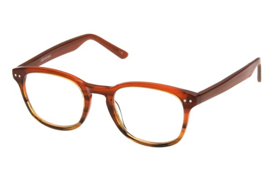Corinne McCormack Lyla Eyeglasses in 1013797 Orange (+1.50, +2.00, +2.50)