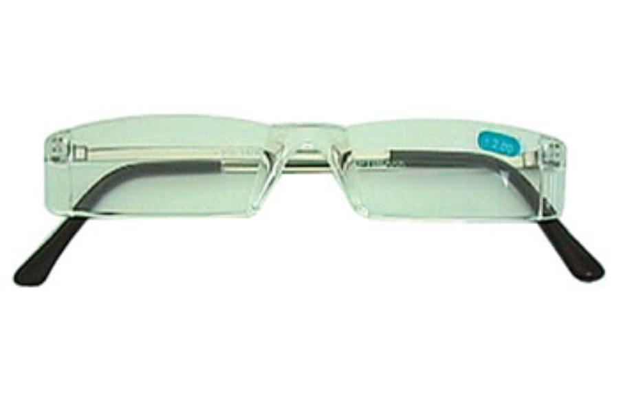119b745146 ... Hilco Readers Crystal Clear Half-Eye Reader Readers in Crystal Clear  1.00D ...
