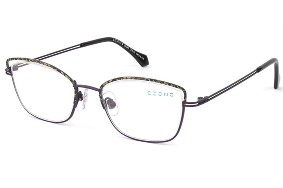 C-Zone Q2243 Eyeglasses in 40 Purple/Grey