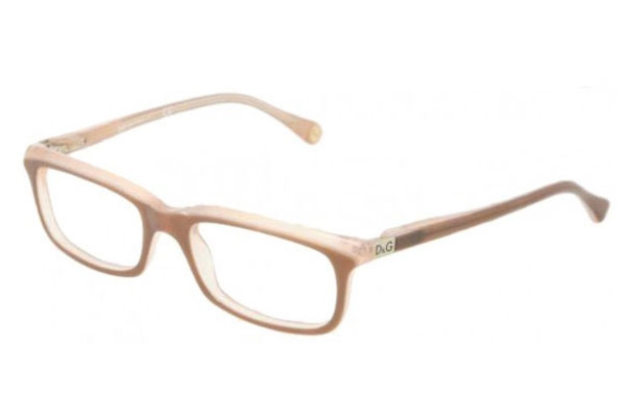 D&G DD 1214 Eyeglasses in 1765 Brown on Beige
