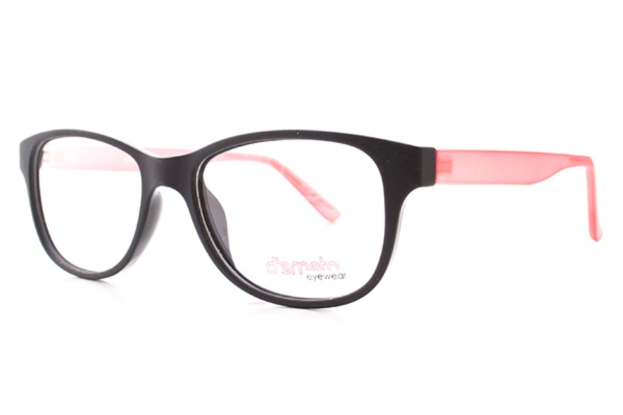 D'Amato DZ 1108 Eyeglasses in Black