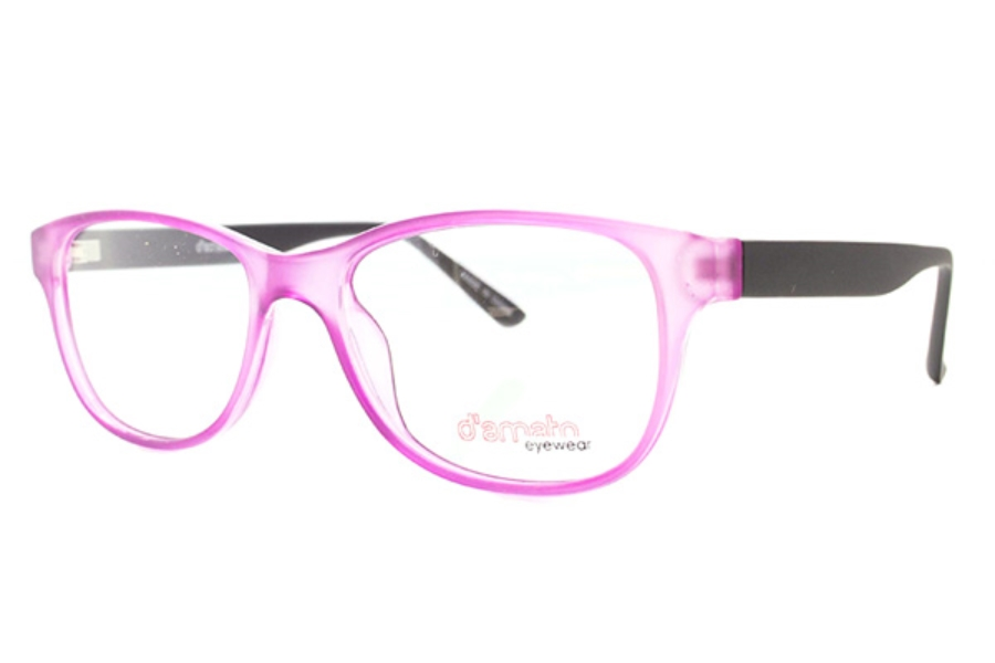 D'Amato DZ 1108 Eyeglasses in Purple