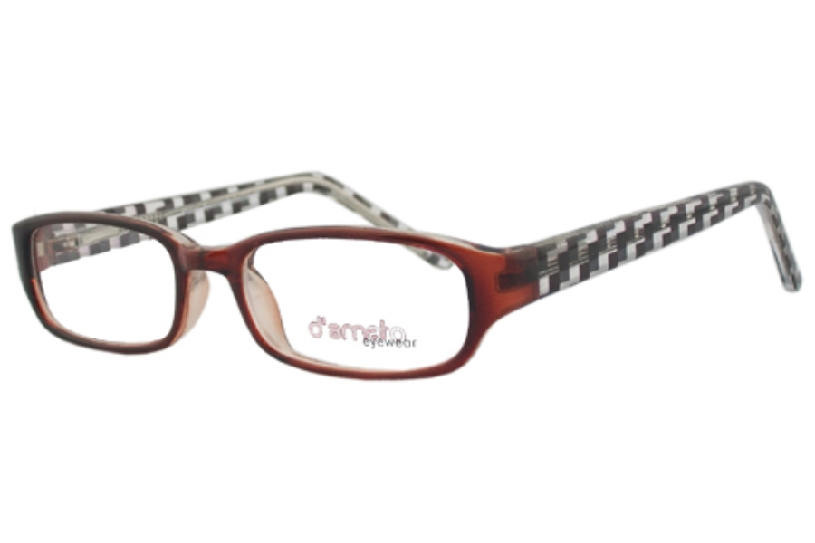 D'Amato DK 233 Eyeglasses in Brown