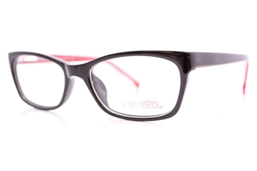 D'Amato DT 005 Eyeglasses in Black