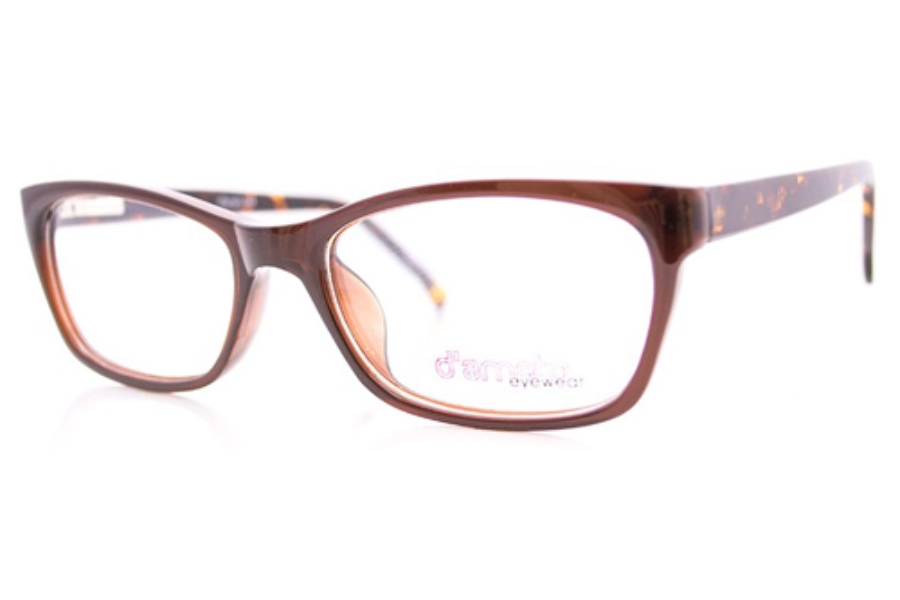 D'Amato DT 005 Eyeglasses in Brown