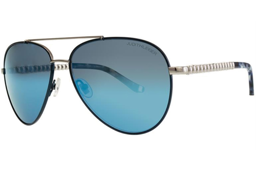 Judith Leiber Couture Cadence Sunglasses in Sapphire
