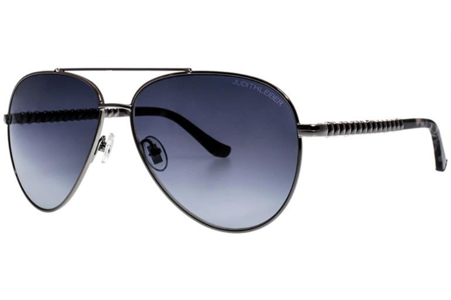 Judith Leiber Couture Cadence Sunglasses in Silver