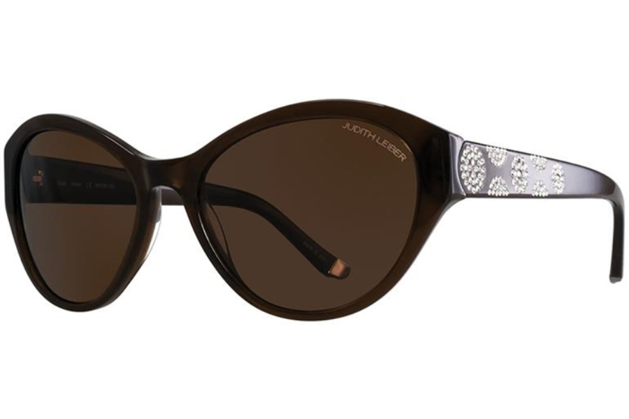 Judith Leiber Couture Solar Sunglasses in Wood