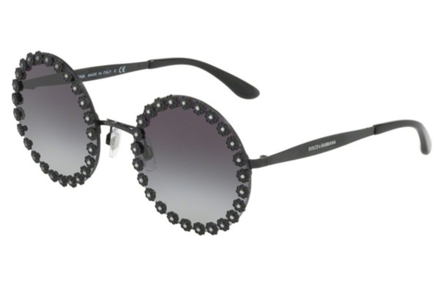 a9c2978833b6 Dolce & Gabbana DG 2173B Sunglasses in 01/8G Black / Grey Gradient ...