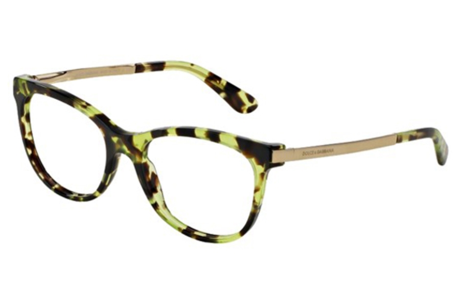 190e43036cc8a ... Dolce   Gabbana DG 3234 Eyeglasses in 2970 Green ...