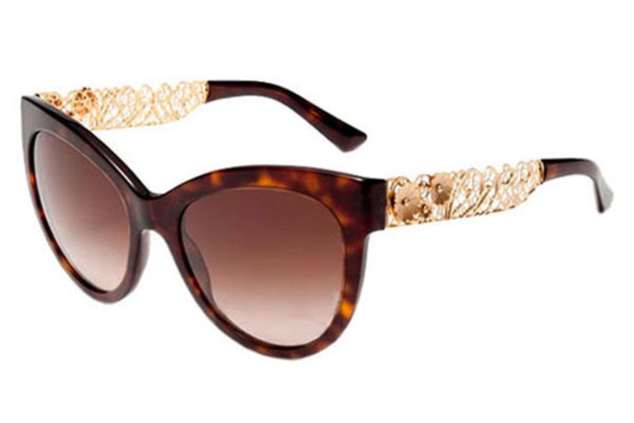6917ffb7df ... Dolce   Gabbana DG 4211 Sunglasses in 502 13 Havana Brown Gradient ...