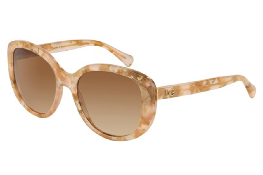 d797b7a5485a ... Dolce   Gabbana DG 4248 Sunglasses in 292813 Powder Marble Brown  Gradient ...