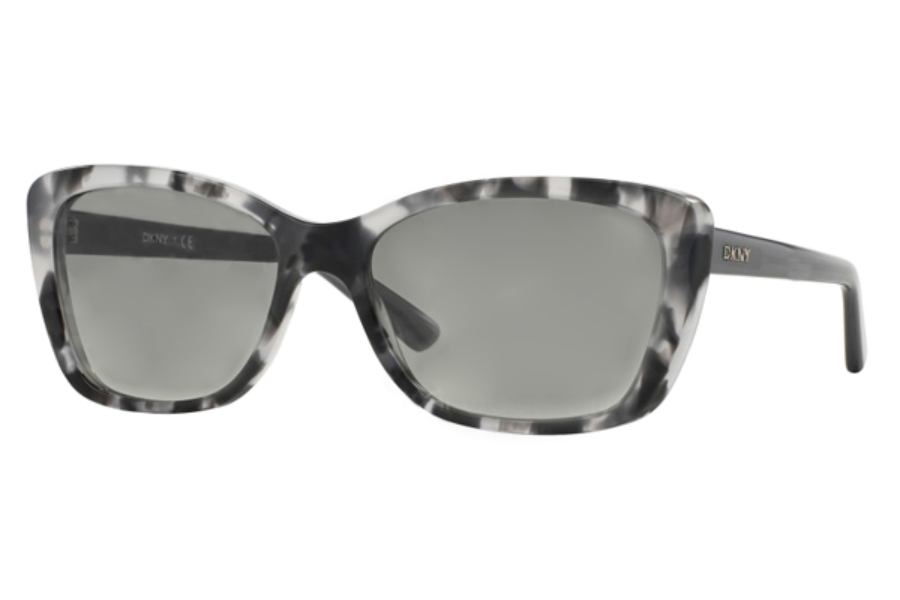 DKNY DY 4130 Sunglasses in 367111 Grey Tortoise Grey Gradient