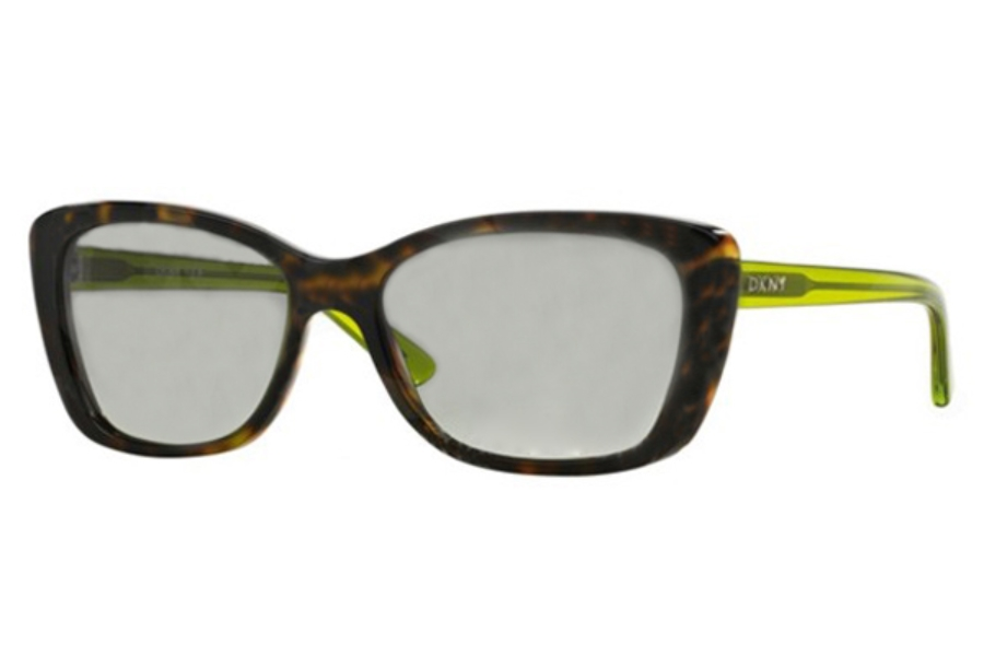 DKNY DY 4130 Sunglasses in 367311 Green/Tortoise Grey Gradient