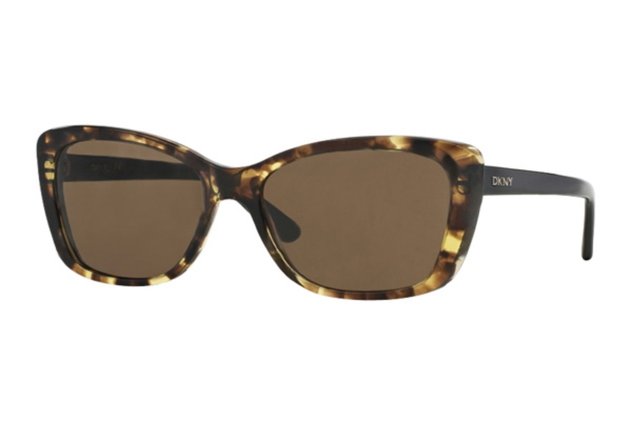 DKNY DY 4130 Sunglasses in 367873 Tortoise Brown
