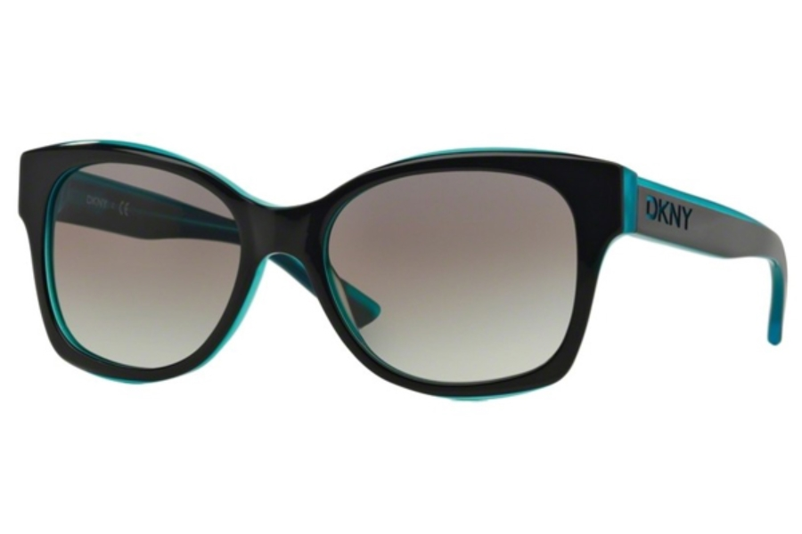 DKNY DY 4132 Sunglasses in 368511 Navy Teal
