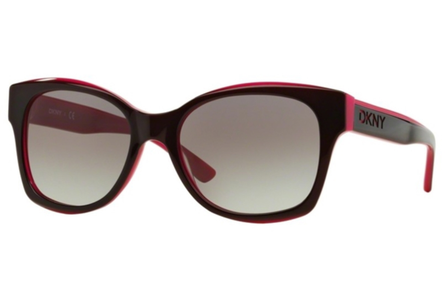 DKNY DY 4132 Sunglasses in 368611 Bordeaux Pink