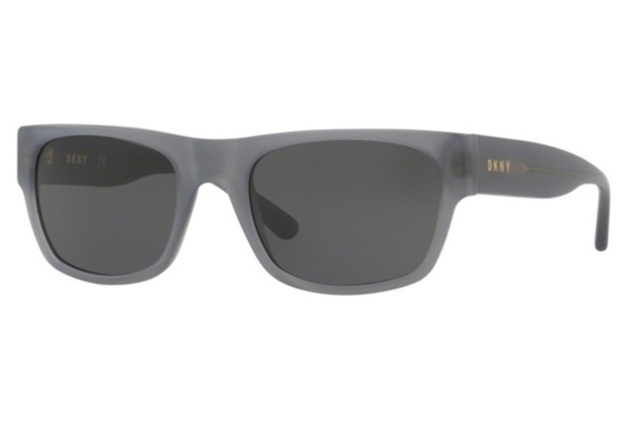 DKNY DY 4150 Sunglasses in 374987 Matte Dark Grey / Grey Solid