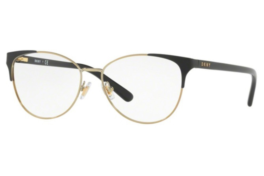 DKNY DY 5654 Eyeglasses in 1239 Black Light Gold (Discontinued)