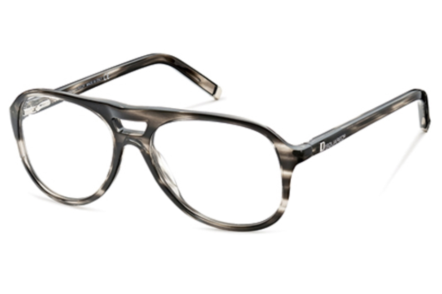 Dsquared DQ5075 Eyeglasses in 020 Striated Grey