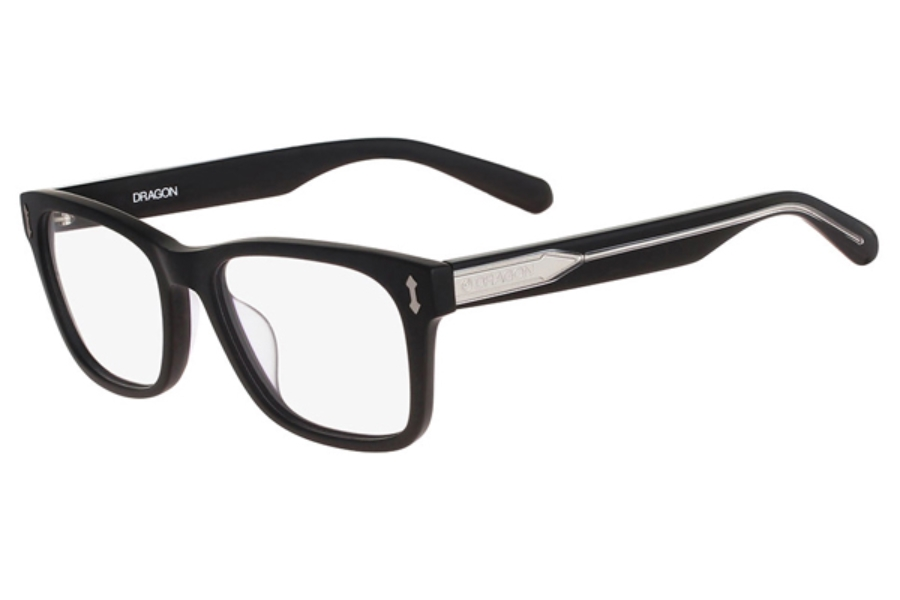 Dragon DR134 DYLAN Eyeglasses in 002 Matte Black