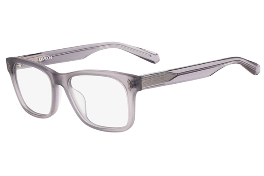 Dragon DR134 DYLAN Eyeglasses in 057 Matte Crystal Grey