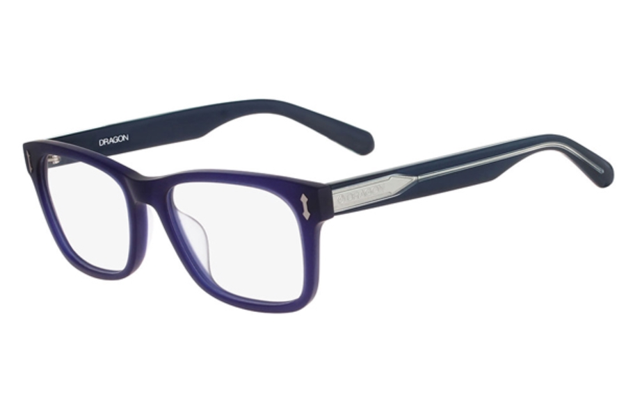 Dragon DR134 DYLAN Eyeglasses in 400 Matte Crystal Navy