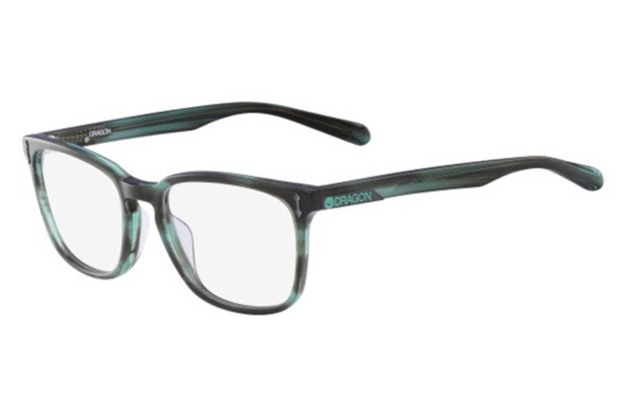 Dragon DR148 GABE Eyeglasses in 320 Teal Horn