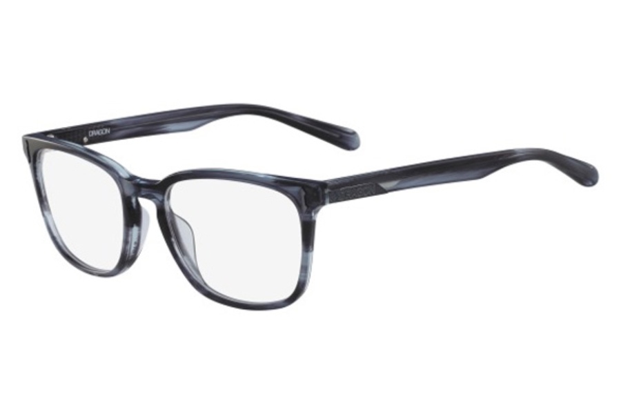 Dragon DR148 GABE Eyeglasses in 419 Blue Horn