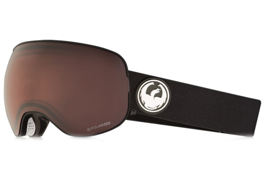 Dragon X2 - Continued II Goggles in Black / Lumalens Brown Polarized