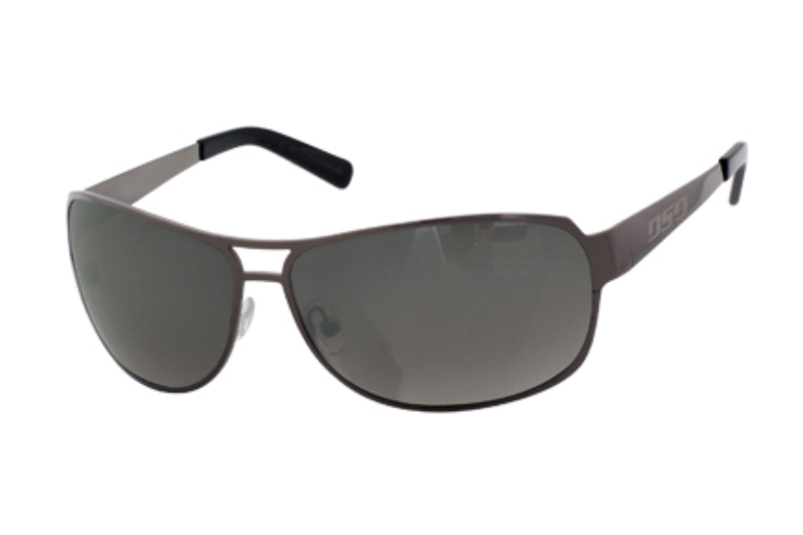 DSO Eyewear VIP Sunglasses in VP-2513F Black Chrome Smoke Flash