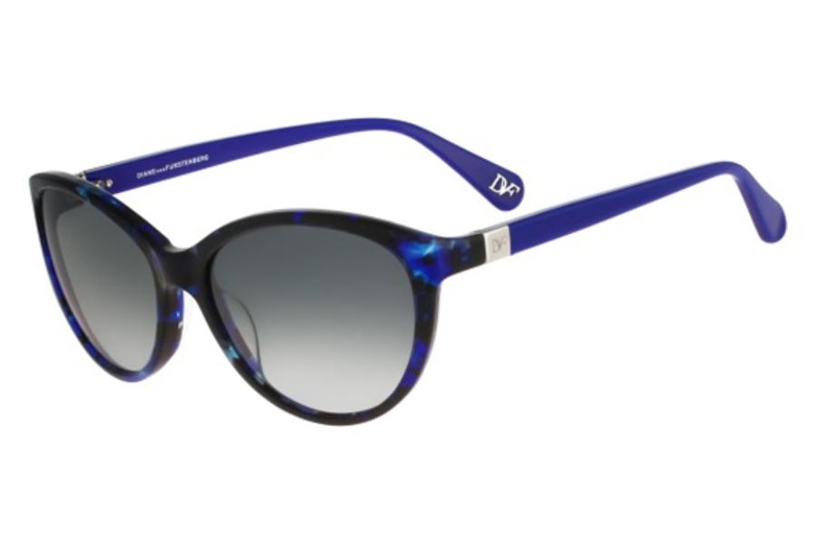 Sunglasses Diane von Furstenberg DVF 599 S BLAIR 255 ROSE TORTOISE