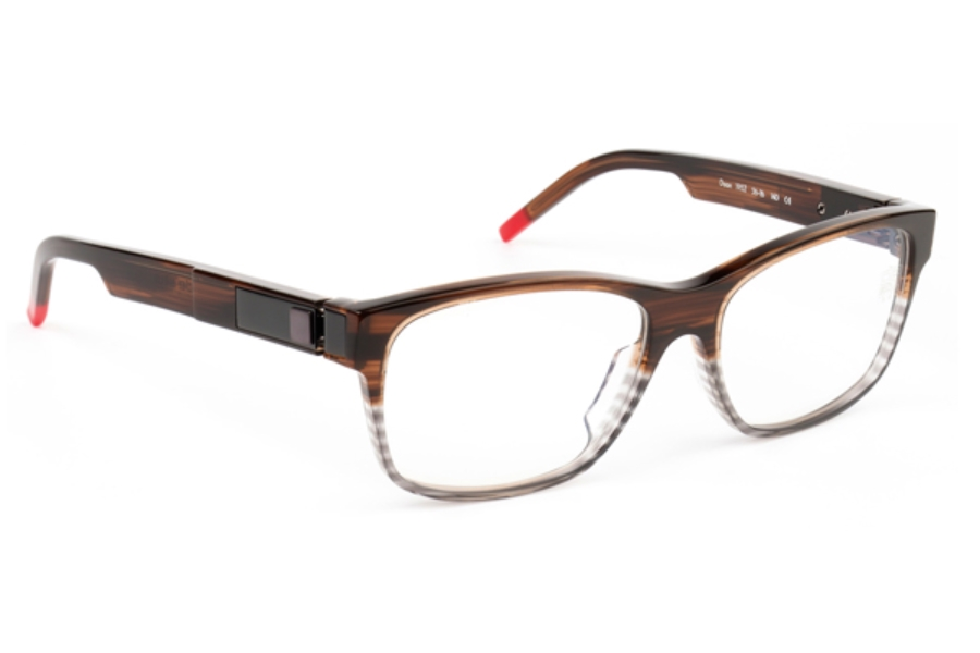 De Stijl Daan S19 Eyeglasses in 1952 Brown Fade
