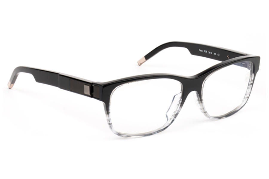 De Stijl Daan S19 Eyeglasses in 1958 Black Fade
