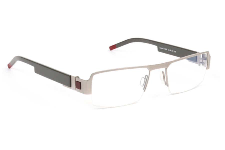 De Stijl Jacobus S06 Eyeglasses in 0606 Silver/ Gray