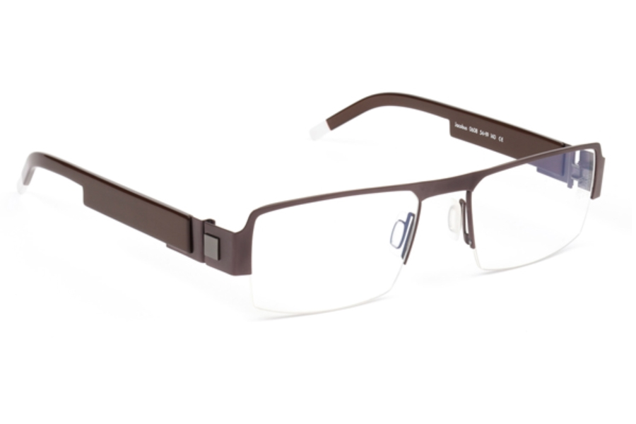 De Stijl Jacobus S06 Eyeglasses in 0608 Brown
