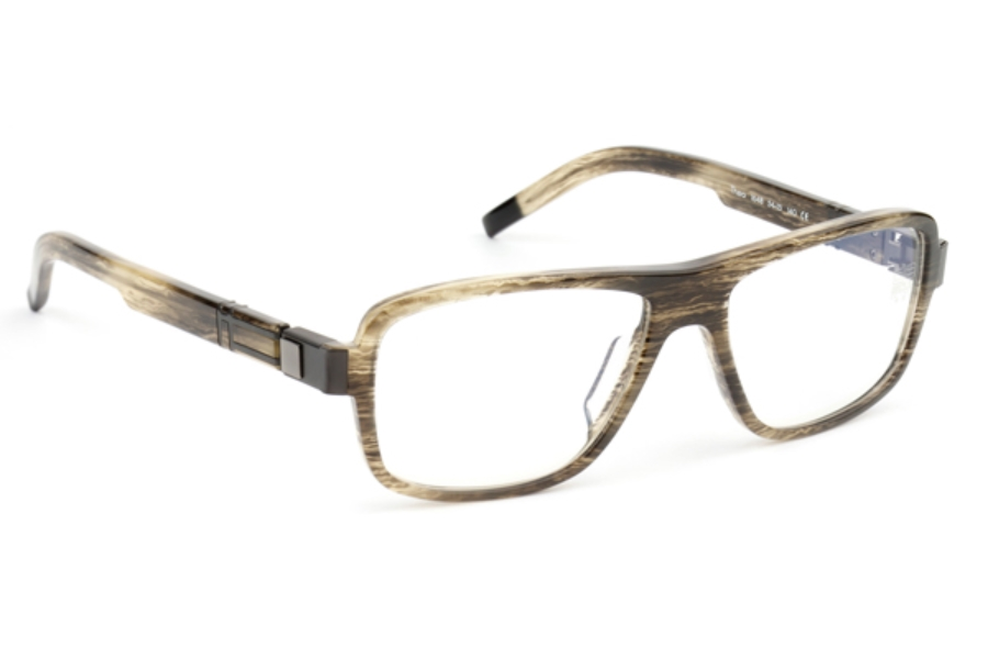 De Stijl Theo S16 Eyeglasses in 1648 Smoky Gray