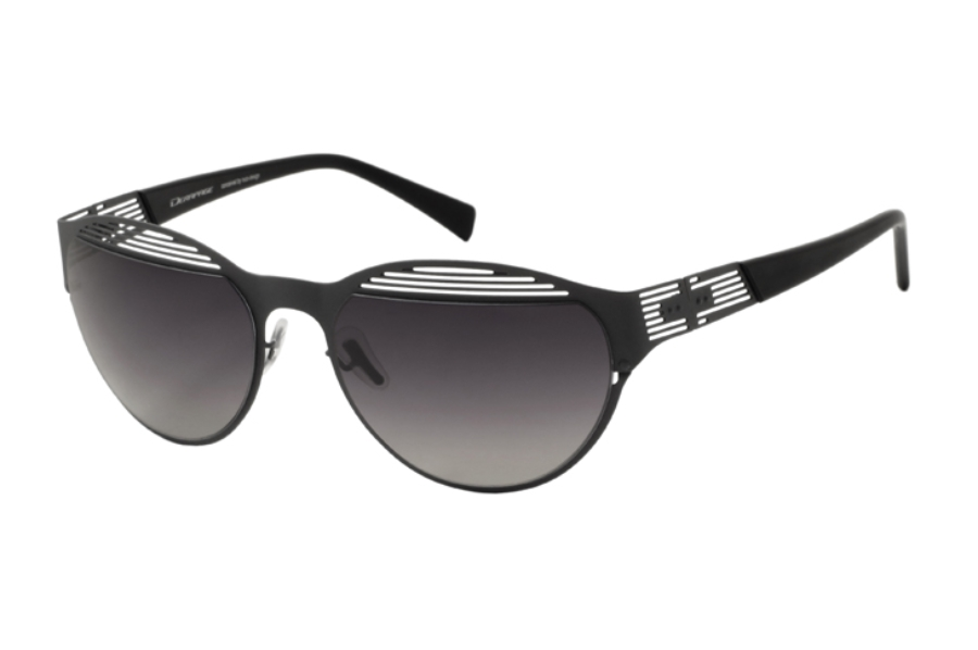Derapage Tornado HP 13 Sunglasses in C967 Gun Rubber Touch