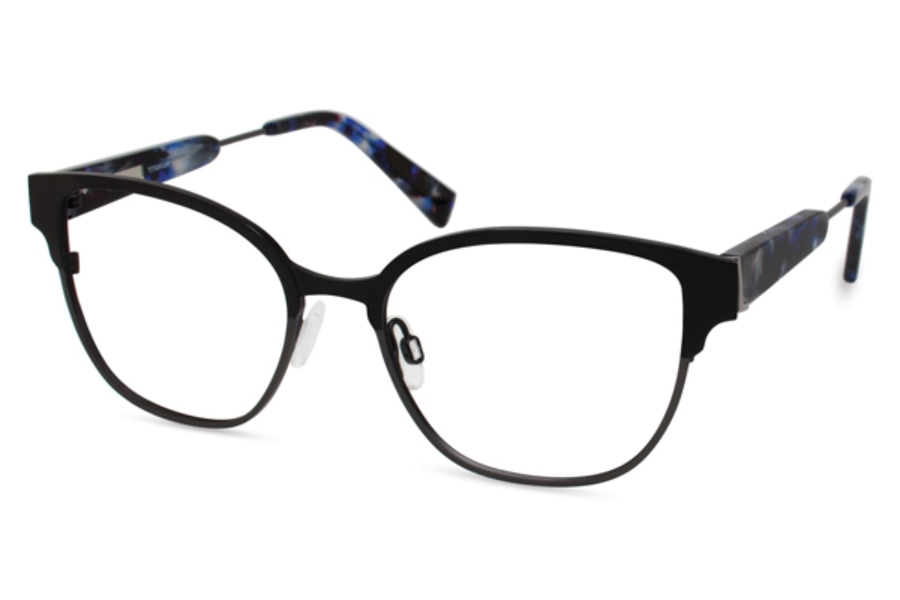 Derek Lam 273 Eyeglasses in Black Gun