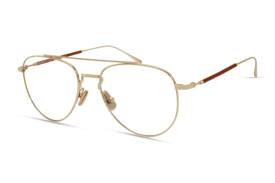 Derek Lam 290 Eyeglasses in Gold /Orange