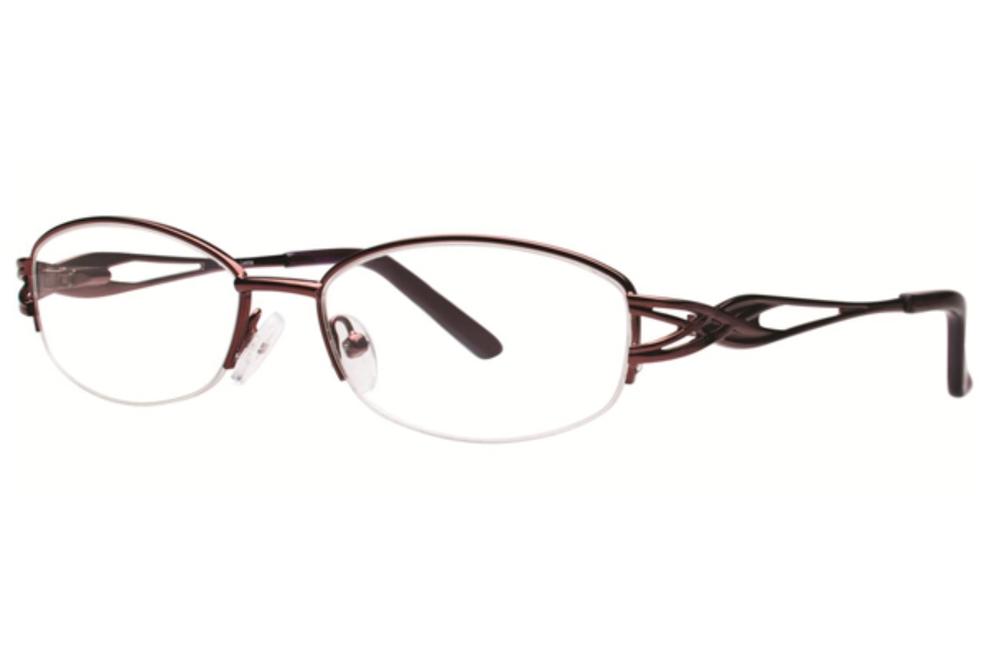 Destiny Lexine Eyeglasses in Burgundy