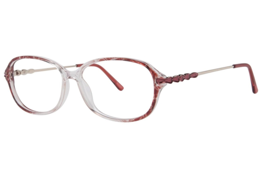 Destiny Prue Eyeglasses in Rose