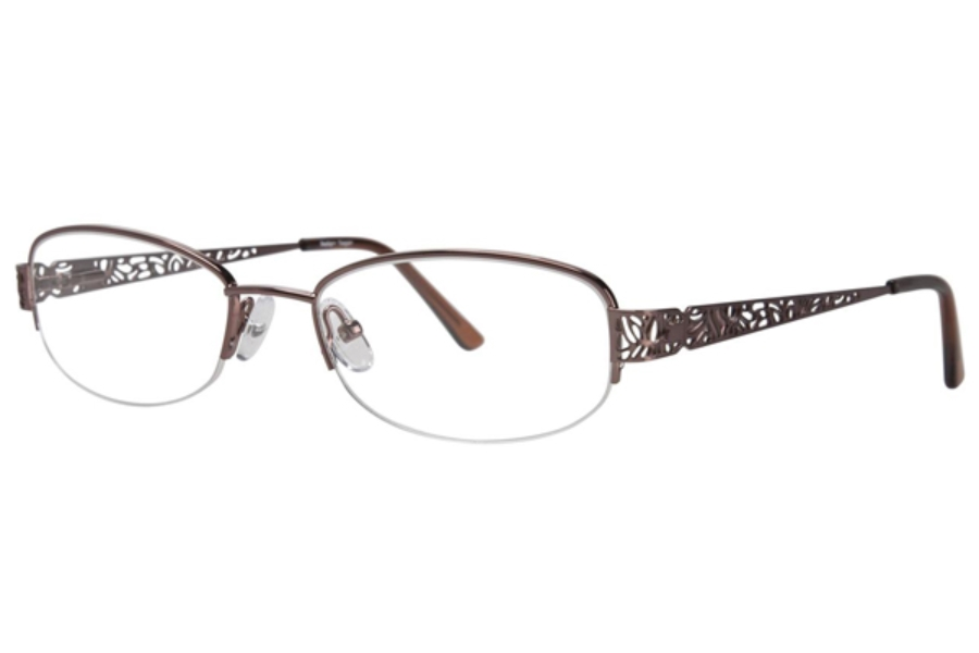 Destiny Teagan Eyeglasses in Brown